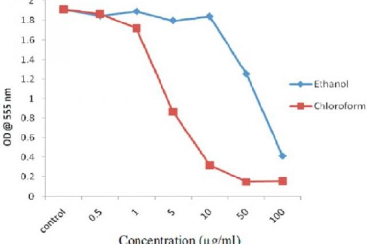 Effect of fruit extracts of Diospyros wallichii on HCT-116