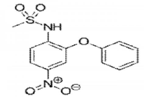 Structure of Nimesulide
